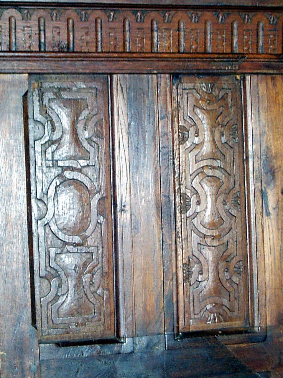 Vintage Wood Paneling: Antique Wood Panels, Wainscot Woodwork, Library Furniture